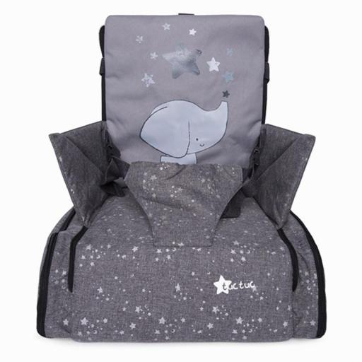 TRONA PORTÁTIL READY & GO WEEKEND CONSTELLATION GRIS