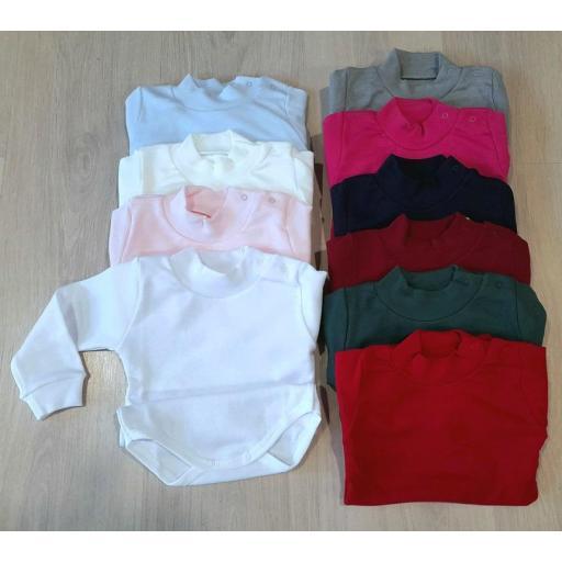 Body bebé semicisne colores Calamaro 1210 jpg