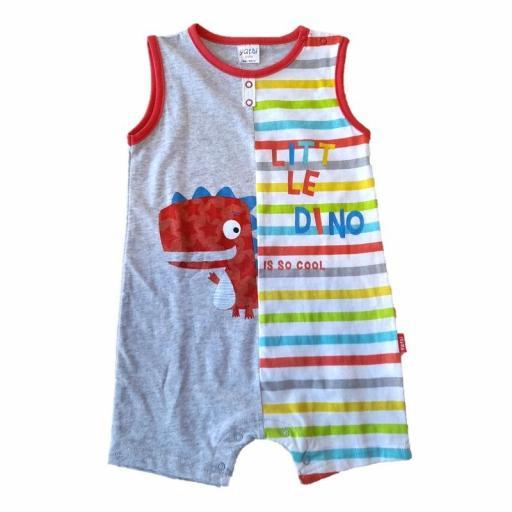 Yatsi Pelele corto bebé niño DINO18105081.jpg
