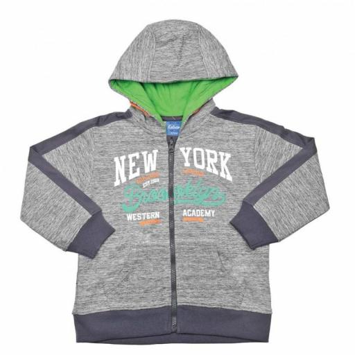 "SUDADERA CAPUCHA ""BROOKLYN"""