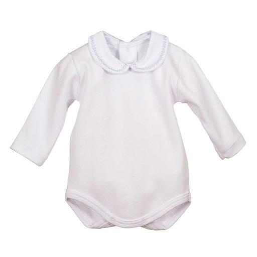 Body Bebé cuello bebé bordado Calamaro [1]