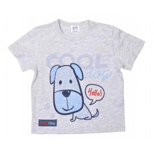 "CAMISETA M/CORTA ""COOL DOG"""