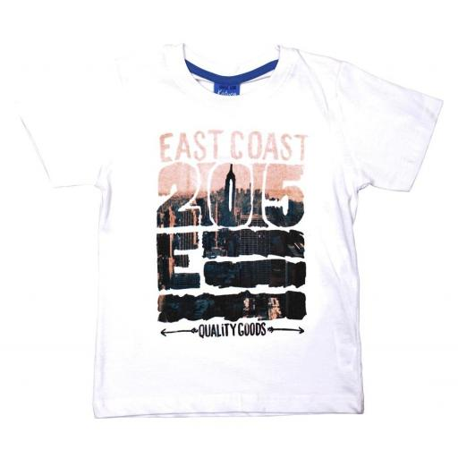 "CAMISETA M/CORTA ""EAST COAST"""