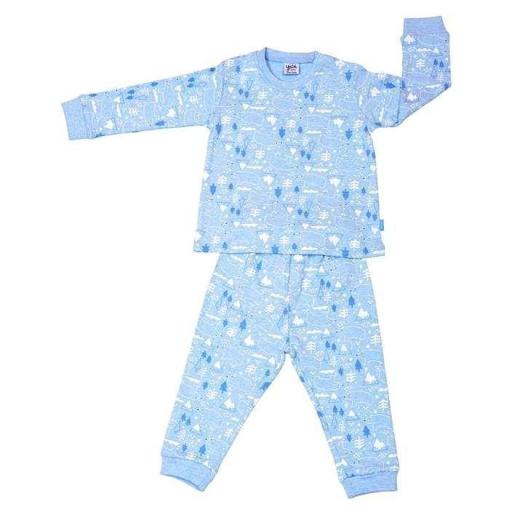 "PIJAMA BEBÉ ALGODÓN INTERLOCK ""POLAR BEAR"""