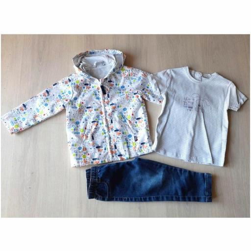 Yatsi - Conjunto entretiempo bebé niño con parka 20111303.jpg