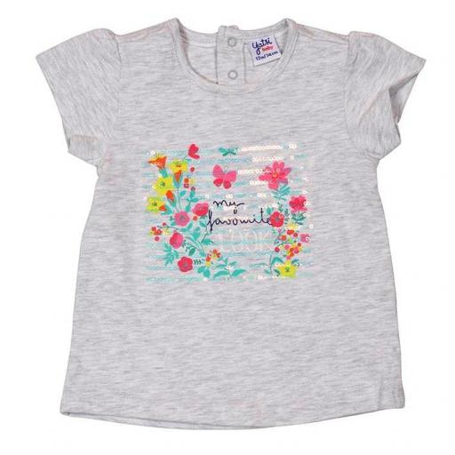 "CAMISETA NIÑA M/CORTA ""MY FAVOURITE LOOK!"""