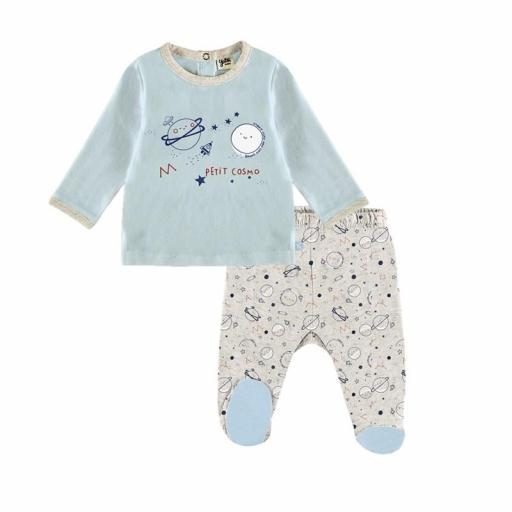 YATSI - Conjunto bebé recién nacido con polaina entretiempo barato  21130205.jpg