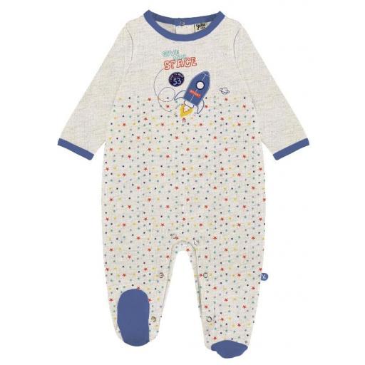 YATSI - Pijama pelele bebé niño recién nacido en algodón fino entretiempo 21130306.jpg
