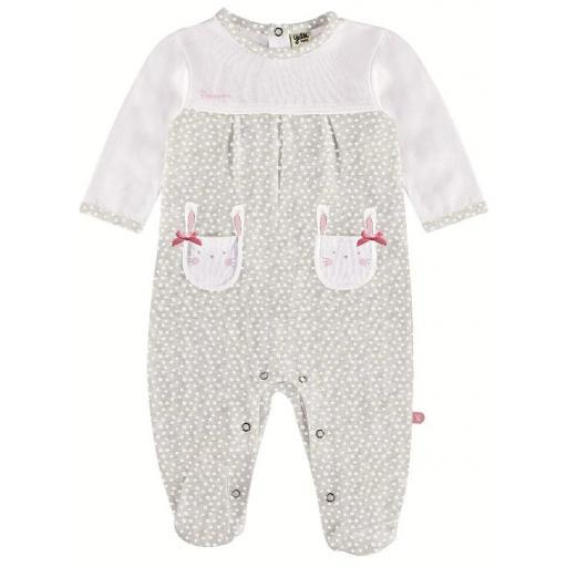 YATSI - Comprar Pijama pelele bebé niña algodón fino entretiempo barato21130354.jpg