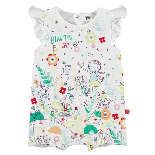 Yatsi Pijama pelele corto bebé niña barato 21130653.jpg