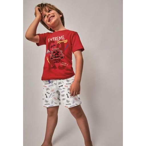 "Pijama niño m/corta ""EXTREME RACING"""