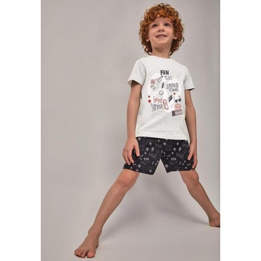Comprar pijama niño manga corta Tobogan 21137007.jpg