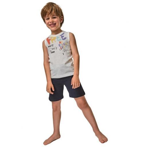 Tobogan - Pijama niño verano sin mangas 21137021.jpg