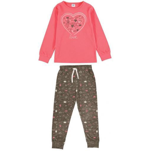 Comparar Pijama niña entretiempo algodón fino con puño  21137080.jpg