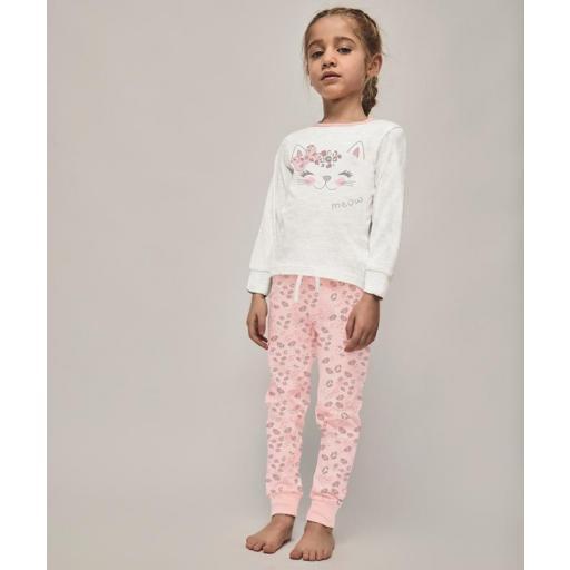 Tobogan Pijama niña manga larga entretiempo con puño 21137081.jpg