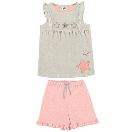 Comprar pijama niña verano sin mangas TOBOGAN 21137573.jpg
