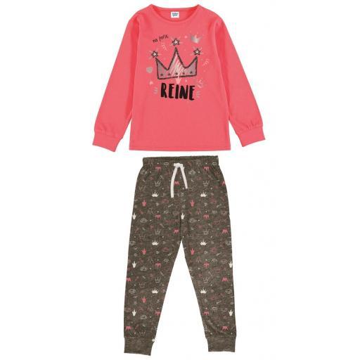 Pijama niña manga larga entretiempo Tobogan 21137583.jpg