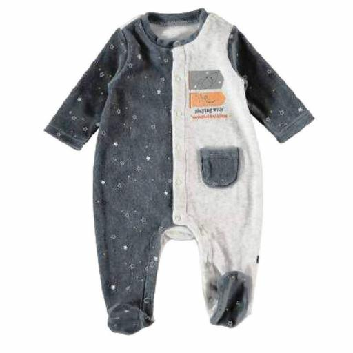 Pijama pelele bebé recién nacido terciopelo Yatsi CONSTELLATIONS
