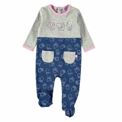Pijama pelele Yatsi bebé niña de algodón interlock 21220362.jpg