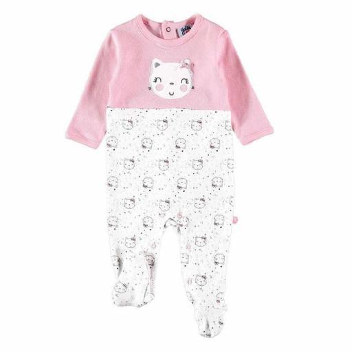Pelele pijama Yatsi Bebé niña de algodón interlock 21220365.jpg