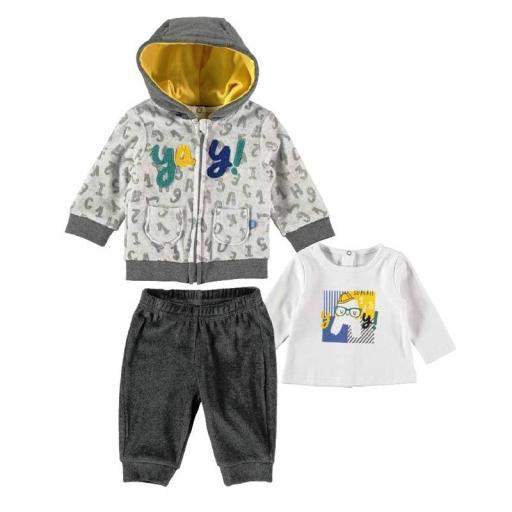 Yatsi Conjunto Chándal bebé niño tres piezas 21221004.jpg