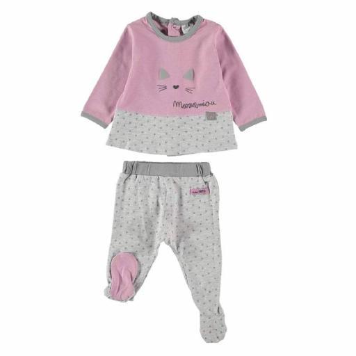 Yatsi Conjunto bebé niña primera puesta de algodón 21222972.jpg
