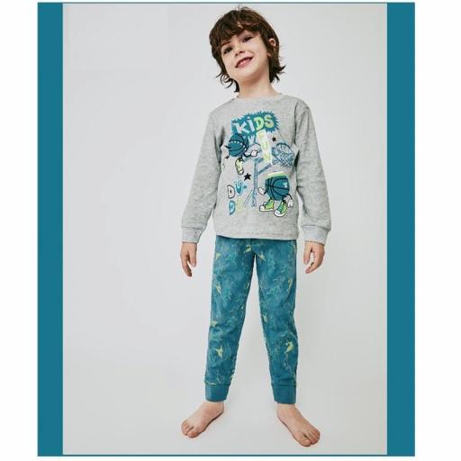 Pijama niño algodón invierno de Tobogan 21227003.jpg