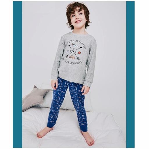 Pijama niño algodón invierno de Tobogan 21227004.jpg