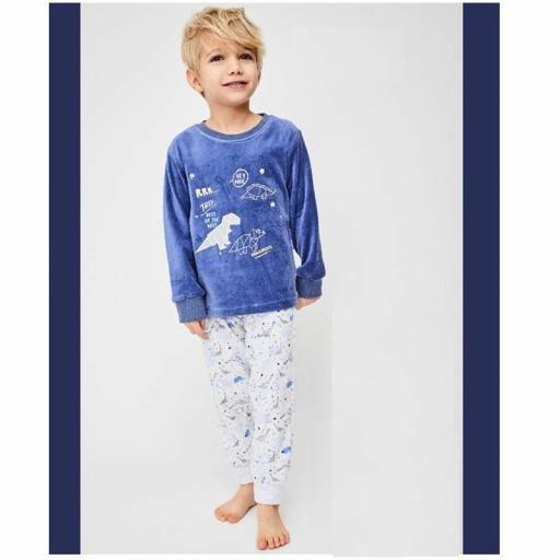 Tobogan Pijama niño de terciopelo de excelente calidad 21227104.jpg