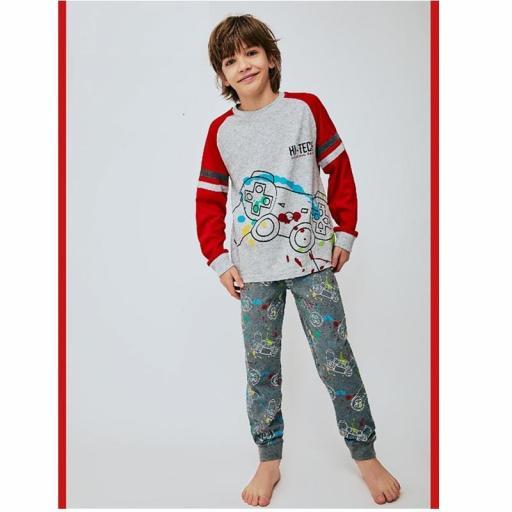 Tobogan Pijama niño junior de algodón 21228002.jpg