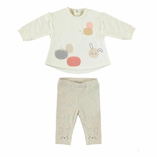 Conjunto legging bebé niña de Mayoral 2703 jpg