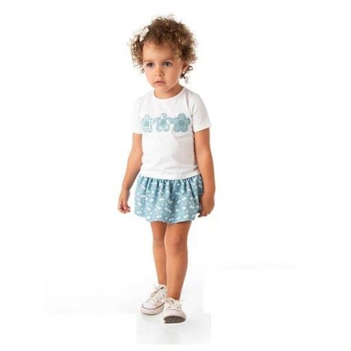 ALBER - Conjunto niña con falda 5519