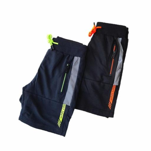 Pantalón corto algodón sport niño Low Cost