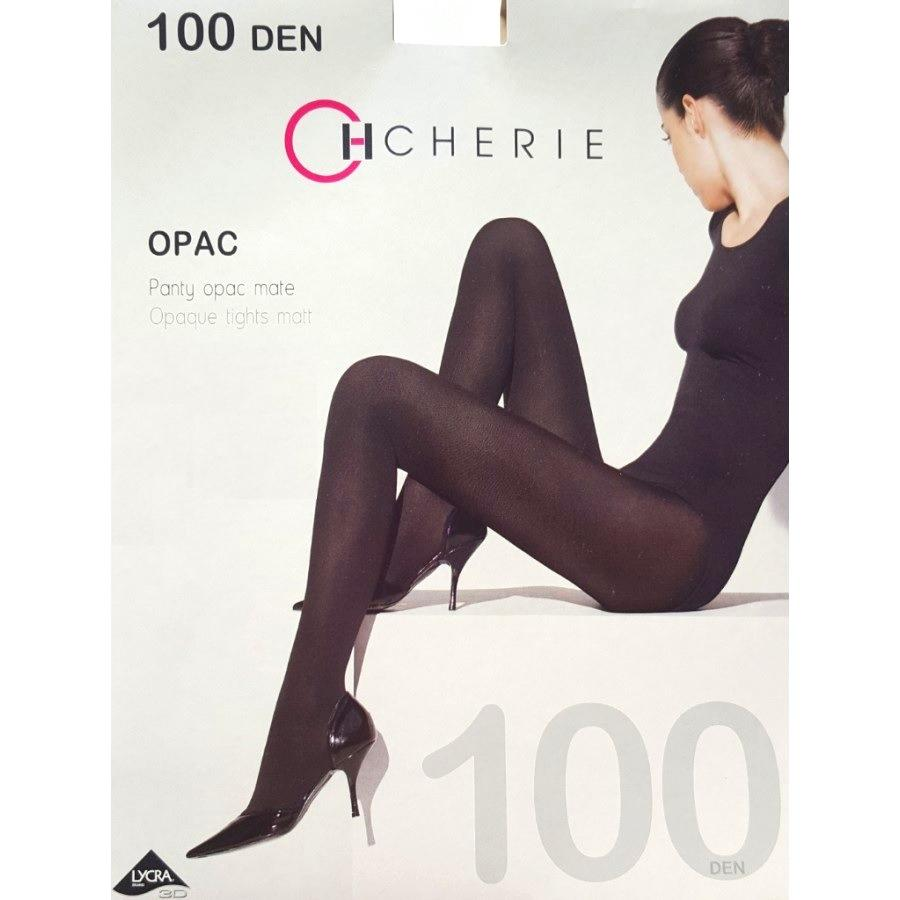 PANTY OPAC MATE 100 DENIERS - 5 COLORES