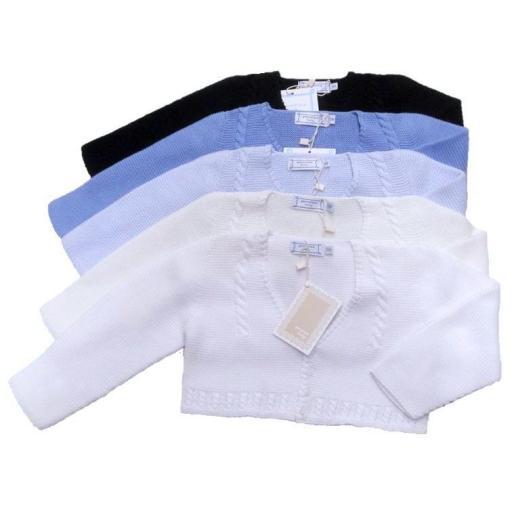 Chaqueta bebé punto de algodón Pecesa14.JPG