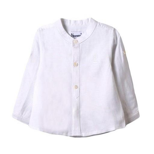 Camisa-bebé-manga-larga-cuello-mao-blanca-Newness-BBV99006.jpg