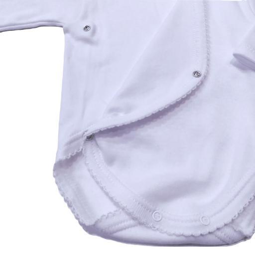 Body bebé básico felpa cruzado Calamaro [2]
