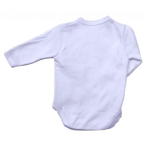Body bebé básico felpa cruzado Calamaro [3]