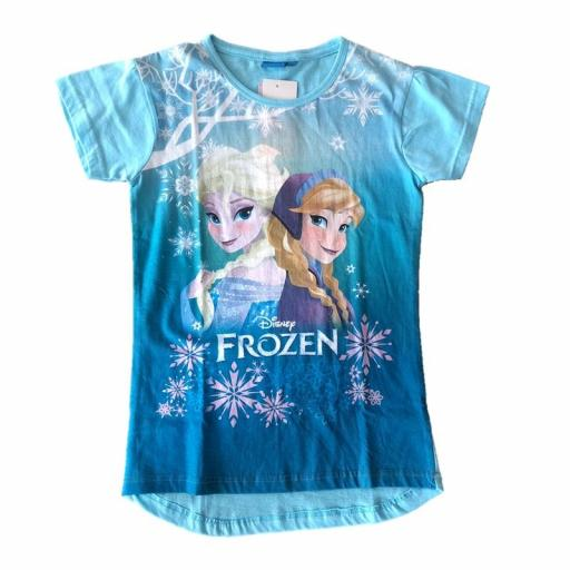 FROZEN Camiseta niña manga corta .jpg