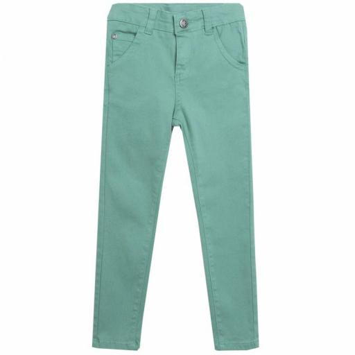 PANTALÓN LONETA COLOR VERDE MENTA