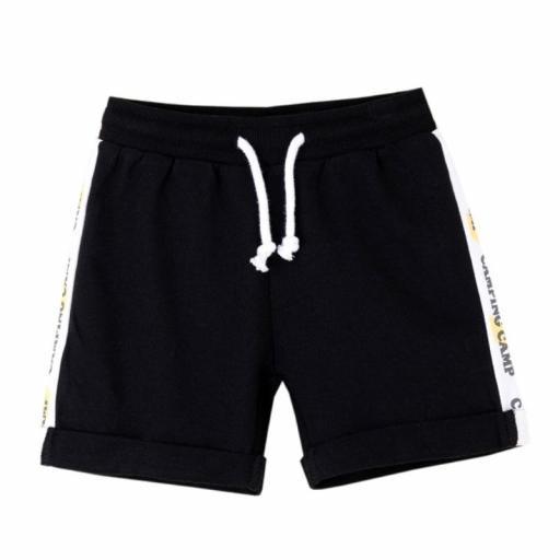 Newness Pantalón corto niño algodón sport JBV61281.jpg