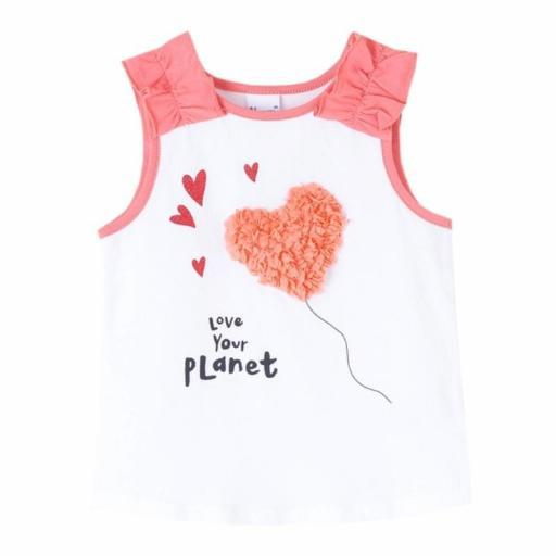 Newness Camiseta niña verano sin mangas JGV61709.jpg