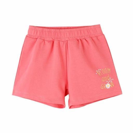 Newness Pantalón corto short niña algodón coralJGV61728.jpg