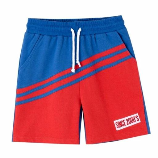Newness Pantalón corto niño verano algodón sport bicolorKBV614101.jpg