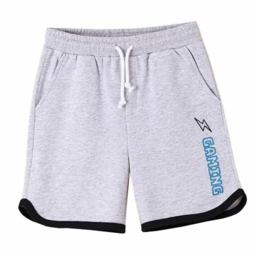 Newness Pantalón corto niño algodón sport KBV614122.jpg