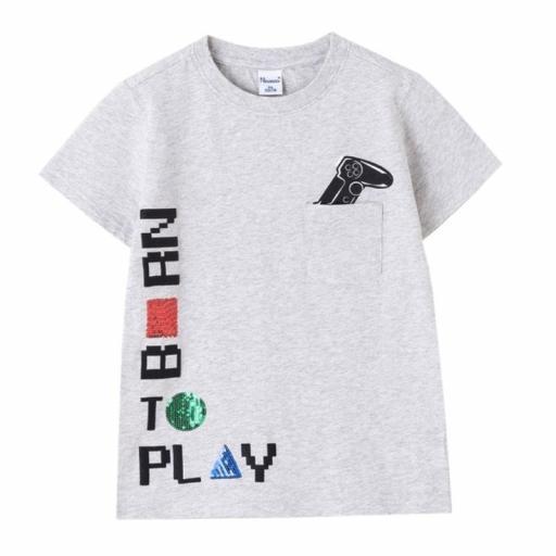 Newness Camiseta niño verano manga corta KBV614124.jpg
