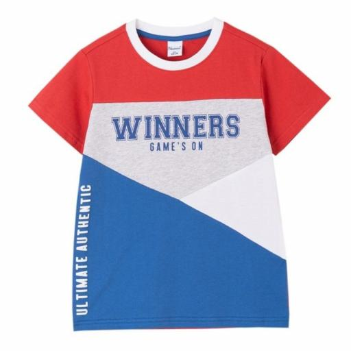 Newness Camiseta niño verano manga corta sport KBV61499.jpg