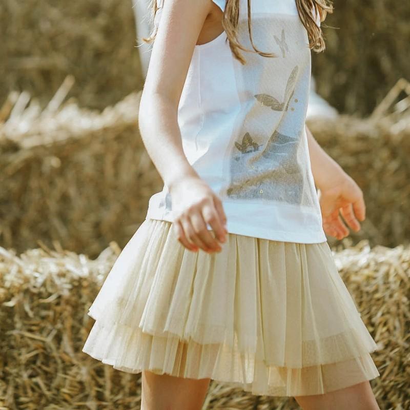 Canada House Conjunto falda niña vestir jpg