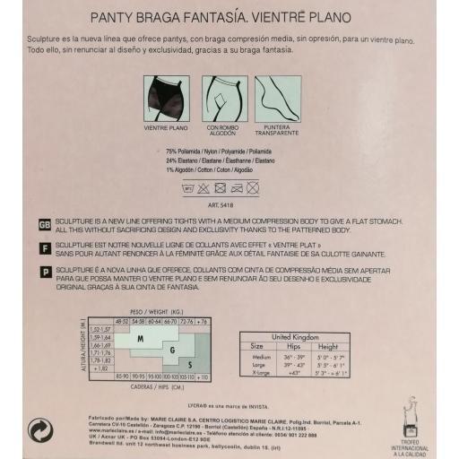 PANTY BRAGA FANTASÍA VIENTRE PLANO 20DEN. [3]