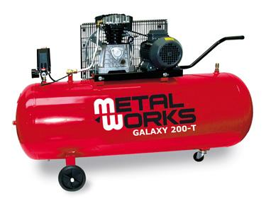 COMPRESOR GALAXY 200-T, 3 C.V. 400 V.